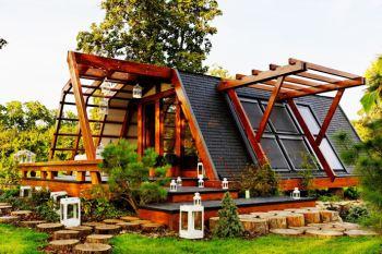 Экологичный загородный дом