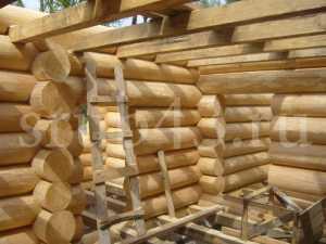Как строить дом из бревна