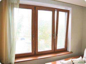 Окна из древесины