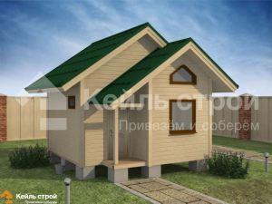 Каркасные дома и бани