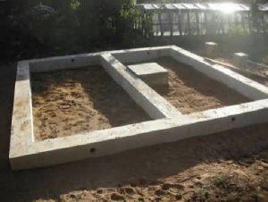 Фундамент под баней